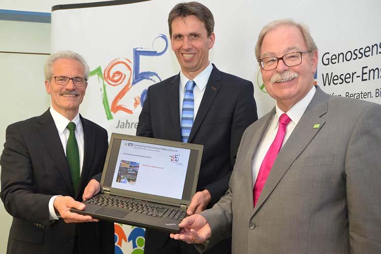 Trotz immer schwerer werdender Rahmenbedingungen zog der Genossenschaftsverband Weser-Ems mit seinen 254 Genossenschaften und 40 Gesellschaften heute in Rastede auf der Jahrespressekonferenz eine positive Bilanz für 2014.