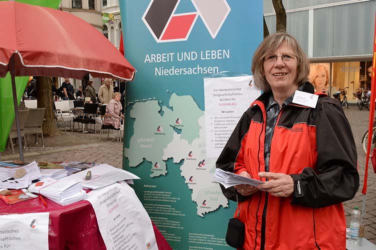 Ute Heeren leitet die Koordinierungsstelle Oldenburg – Demokratische Werte stärken/schützen.