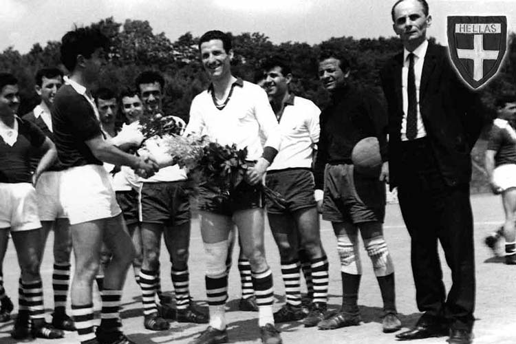 Fußball entpuppte sich schon 1962 als Integrationshilfe. Auch Chrisanthos Kesoglou fand so schnell Anschluss.