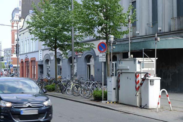 Dieselfahrzeuge könnten für die extreme Luftbelastung am Heiligengeistwall verantwortlich sein.