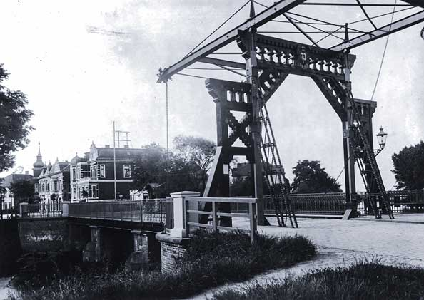 Cäcilienbrücke Oldenburg vor 1926.