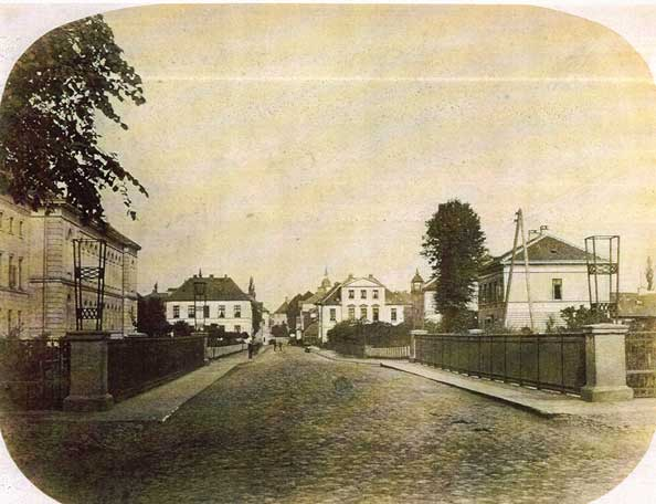 Cäcilienbrücke vor 1896.
