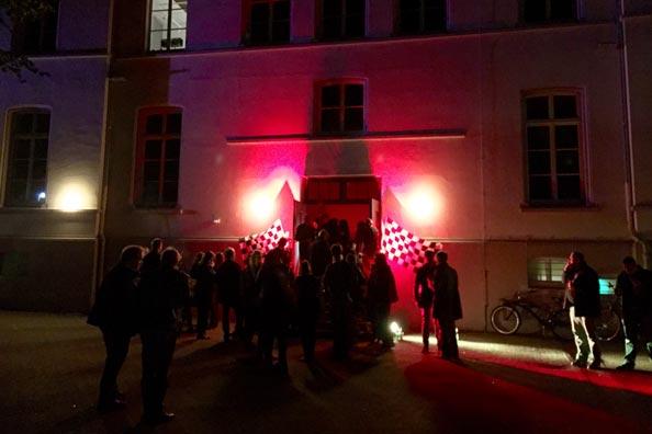 Die Geheime Party fand im Keller der alten Knabenschule am Waffenplatz statt.