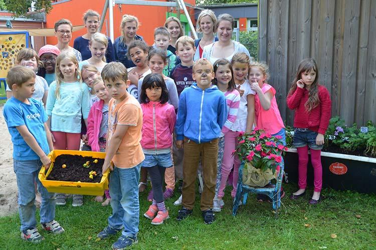 40 Kinder aus Oldenburg-Ohmstede schlüpften für fünf Tage in die Rolle von Stadtteilforschern, um ihre Umgebung spielerisch zu erkunden.
