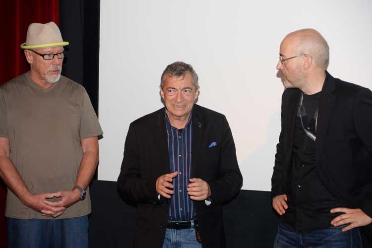 Philippe Mora sprach über seinen Film Three Days in Auschwitz.