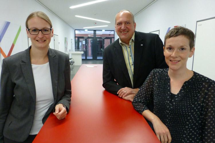 Christine Gröneweg, Dr. Daniel Ludwig und Sandra Werb gehören zum Wissenschaftsladen Vechta und sind maßgeblich an der Bürgerwissenschaftskonferenz beteiligt.