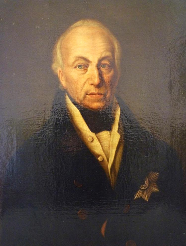 Vergangene Woche wurde ein Gemälde von Peter Friedrich Ludwig im Innenhof des Oldenburger Schlosses aufgefunden. Die Polizei sucht Zeugen.