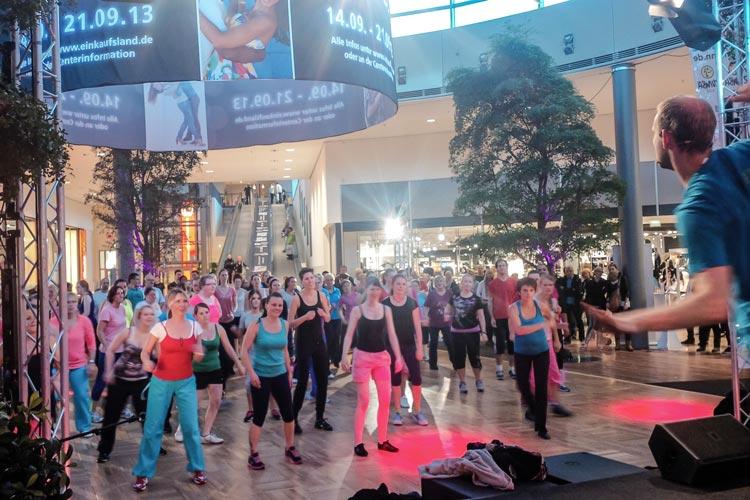 Oldenburg tanzt vom 10. bis zum 17. Oktober im famila Einkaufsland in Wechloy.