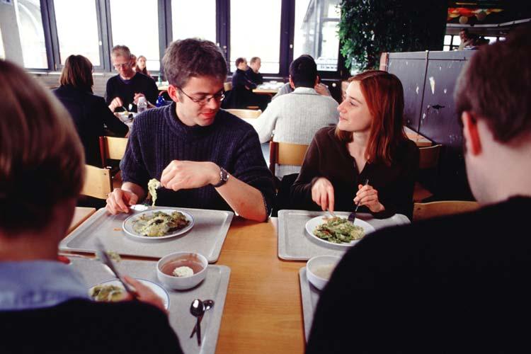 In Oldenburg sorgt das Studentenwerk mit sechs Mensen täglich für das leibliche Wohl der Studierenden.