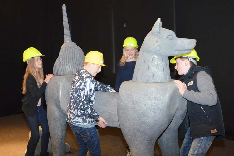 Ab Samstag kann die sagenhafet Ausstellung Bestiarium Construendum: Mit Fantasie zu Fabeltier & Co im Oldenburger Landesmuseum für Natur und Mensch besucht werden.