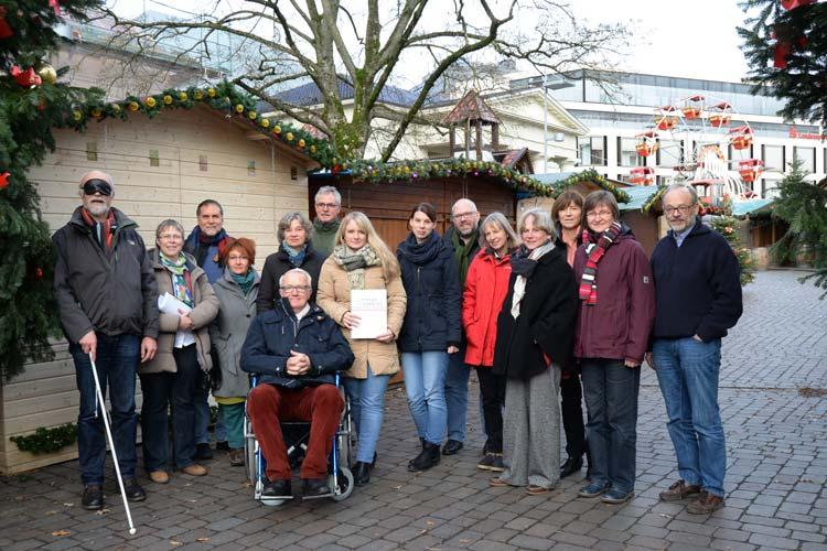 Oldenburgs Stadtführer wurden im Rahmen eines Workshops für die Bedürfnisse von Menschen mit Behinderungen sensibilisiert.