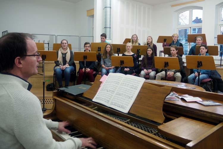 Eine musikalische Kostprobe gab es zur CD-Premiere der KlangHelden.