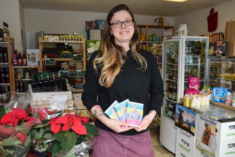 Auch Stefanie Coors (Veggiemaid und vegan Snackbar) beteiligt sich an dem Einkaufskompass Kostbar.