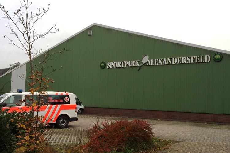 In der ehemaligen Tennishalle des Post SV werden am 7. November weitere Flüchtlinge von der Stadt Oldenburg aufgenommen.