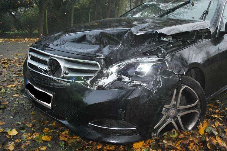 Der Fahrer kann sich an den Unfall nicht erinnern.