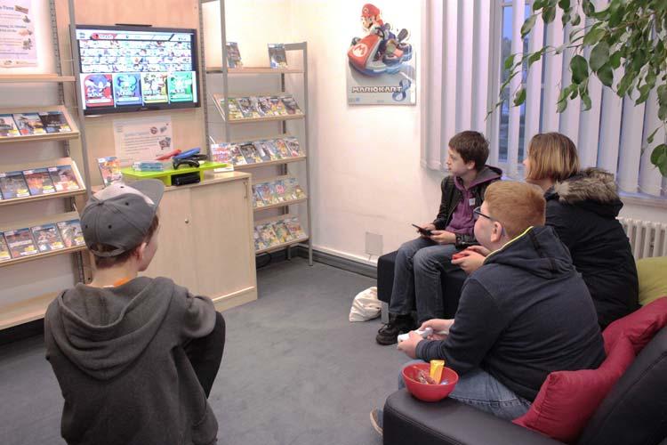 Im PFL findet ein zweiter Gaming-Abend der Stadtbibliothek Oldenburg statt.