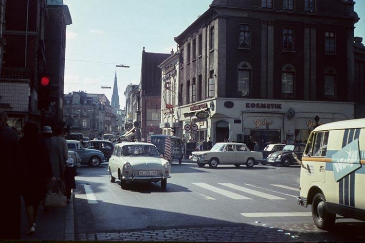 Heiligengeiststraße mit Blick in die Lange Straße.