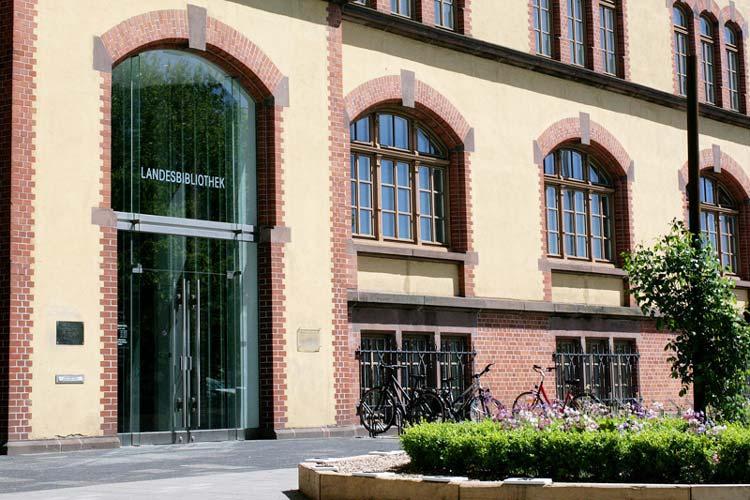 Die Landesbibliothek Oldenburg wird umgebaut.