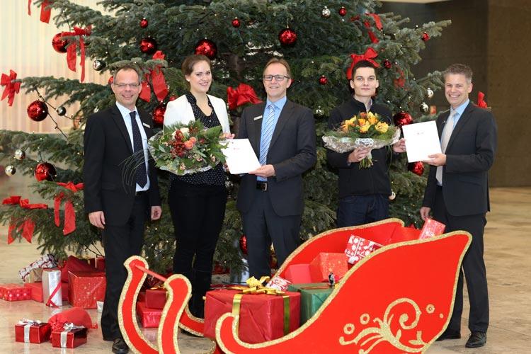 Ein Weihnachtskalender der besonderen Art wartete im Dezember auf die Nutzer der Internet-Filiale der Landessparkasse zu Oldenburg. Im Rahmen eines Gewinnspiels konnten die Kunden jeden Tag eine Frage zu den Online-Services der LzO beantworten.