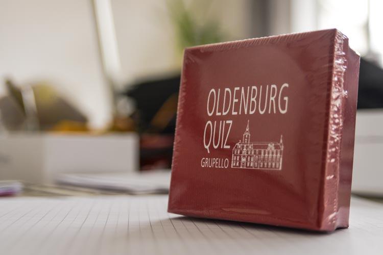 n dieses dekorative Kästchen passt das Oldenburg Quiz.
