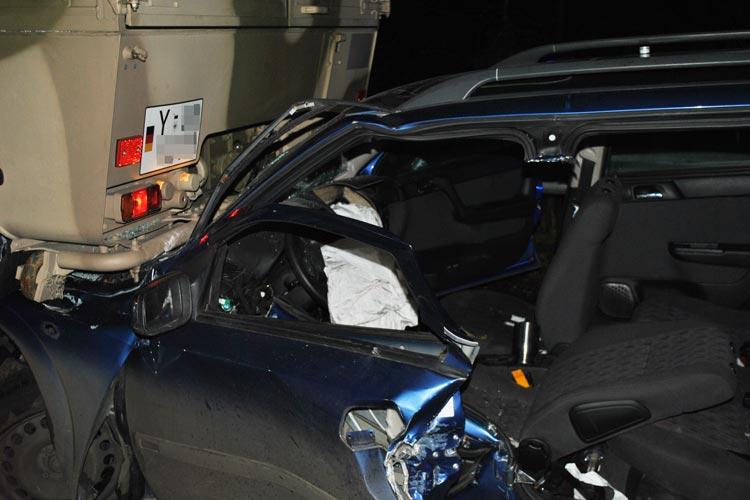 Bei einem schweren Verkehrsunfall auf der A 29 wurde ein 35-jähriger Pkw-Fahrer aus Rastede schwer verletzt.