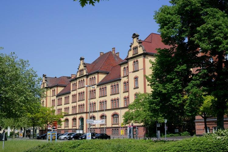 Die Landesbibliothek Oldenburg.