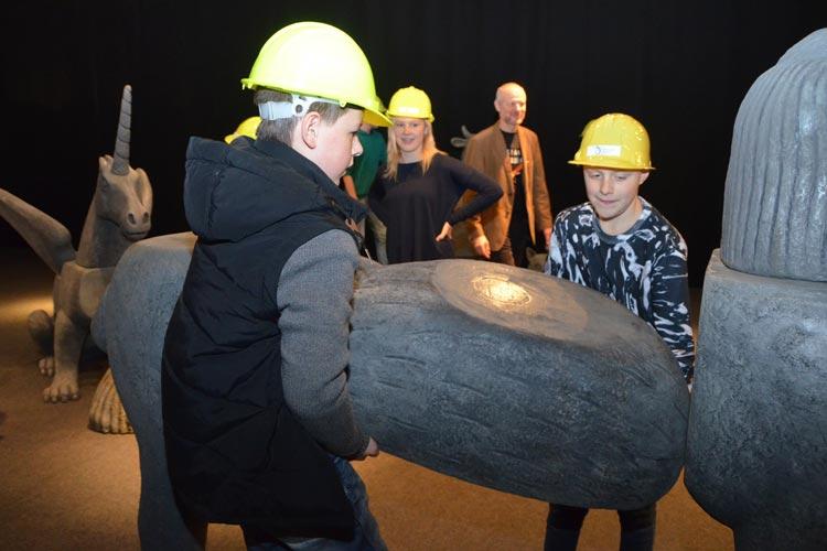 Das Oldenburger Landesmuseum für Natur und Mensch hat sich als Familienmuseum einen guten Ruf erworben. Die laufende Ausstellung über die Fabeltiere unterstreicht das.