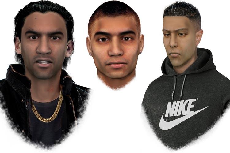 Diese drei Männer werden von der Oldenburger Polizei gesucht.