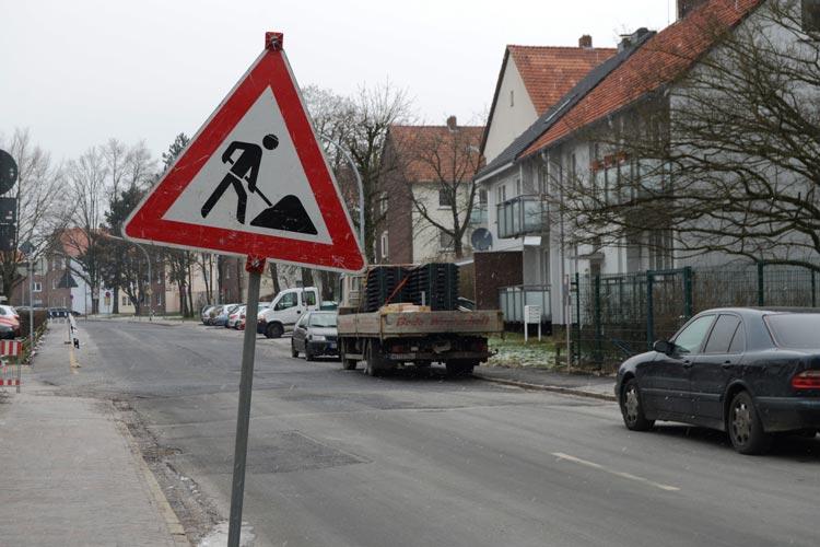 Ab heute wird die Wehdestraße in Oldenburg-Donnerschwee weiter ausgebaut.