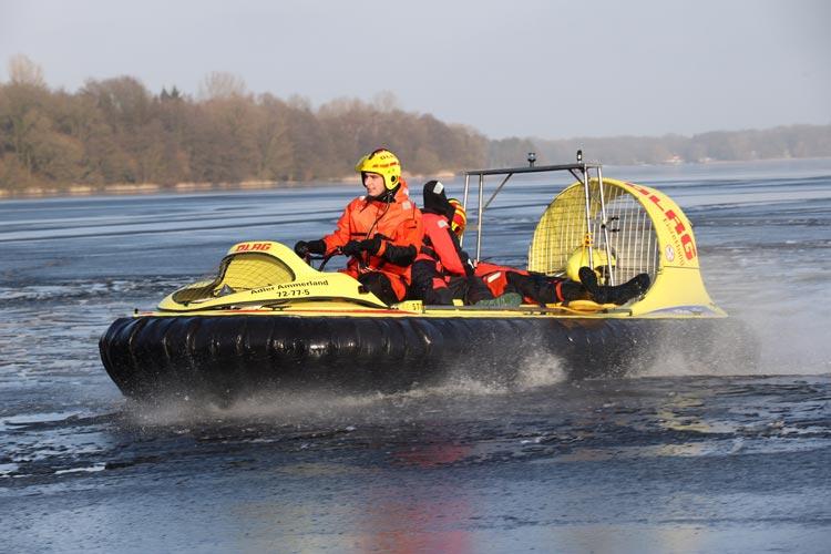 Ein Luftkissenboot gibt es in Niedersachsen nur an zwei Standorten: Steinhuder und Zwischenahner Meer.