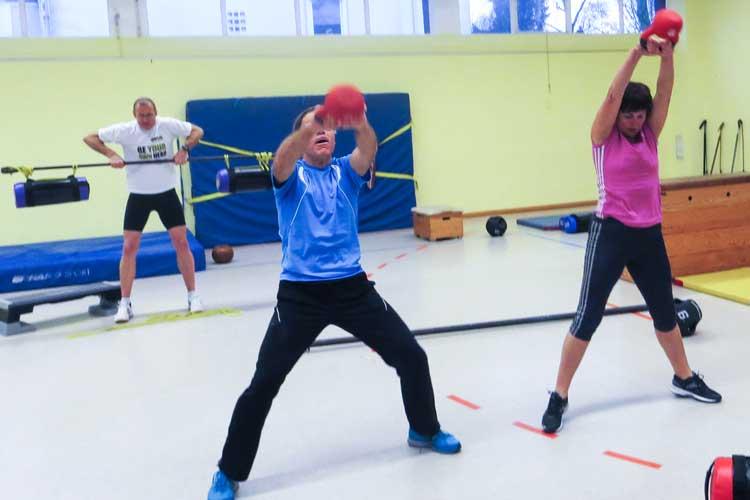 Crosstraining ist eines der Angebot beim BTB-Gesundheitssporttag.