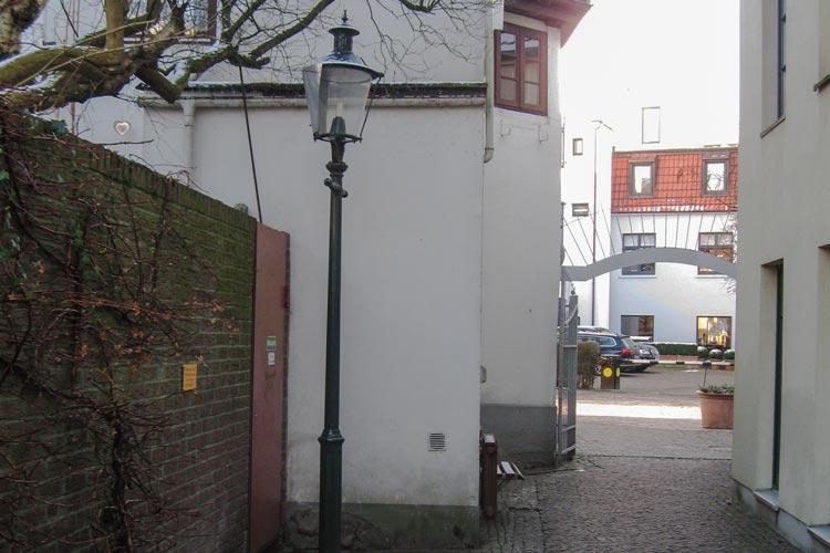 Im Nikolaigang in der Oldenburger Innenstadt ereignete sich der Raubüberfall.