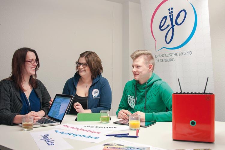 Mit ejoPRO können die Ehrenamtler in der evangelischen Jugendarbeit auf einen eigenen Cloud-Service zurückgreifen.