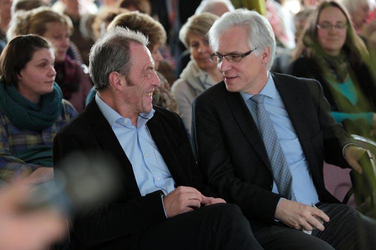 Prof. Dr. Klaus Hauer und Dr. Jürgen Bauer zu Gast beim Aktionstag Demenz und Bewegung.