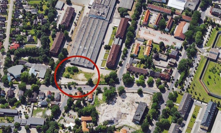 Neben dem ehemaligen AEG-Gelände in Oldenburg Kreyenbrück soll ein Stadtteilzentrum entstehen.