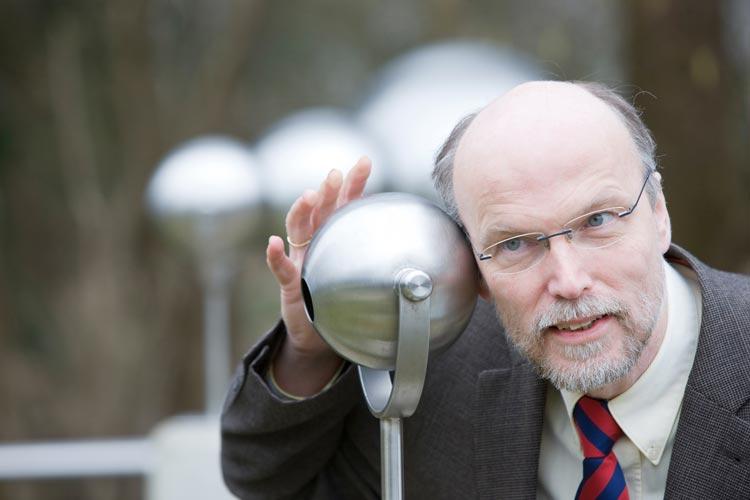 Der international renommierte Hörforscher Prof. Dr. Dr. Birger Kollmeier gründete vor 20 Jahren das Hörzentrum Oldenburg.
