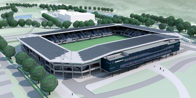 Der Oldenburger Rat hat eine Machbarkeitsstudie für eine Fußballarena bei den Weser-Ems Hallen beschlossen.