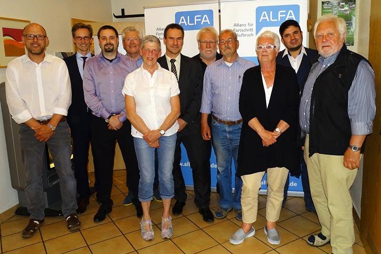 Die Allianz für Fortschritt und Aufbruch (ALFA) wird in Oldenburg mit dreizehn Kandidaten bei der Kommunalwahl antreten.