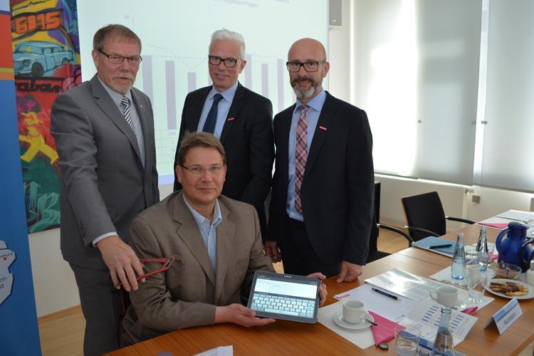 Das Konjunkturhoch hat das Handwerk im Oldenburger Land zur Freude von Manfred Kurmann, Präsident der HWK Oldenburg fest im Griff.