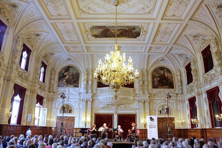 Der Schlosssaal ist einer der Spielstätten der Oldenburger Promenade.