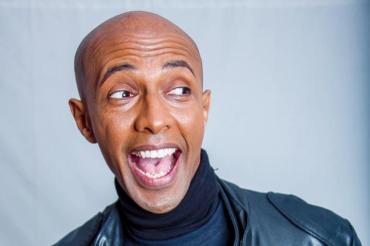 Der Comedian Berhane Berhane wird ein Highlight des AWO-Kulturabends im Oldenburger Polyester sein.
