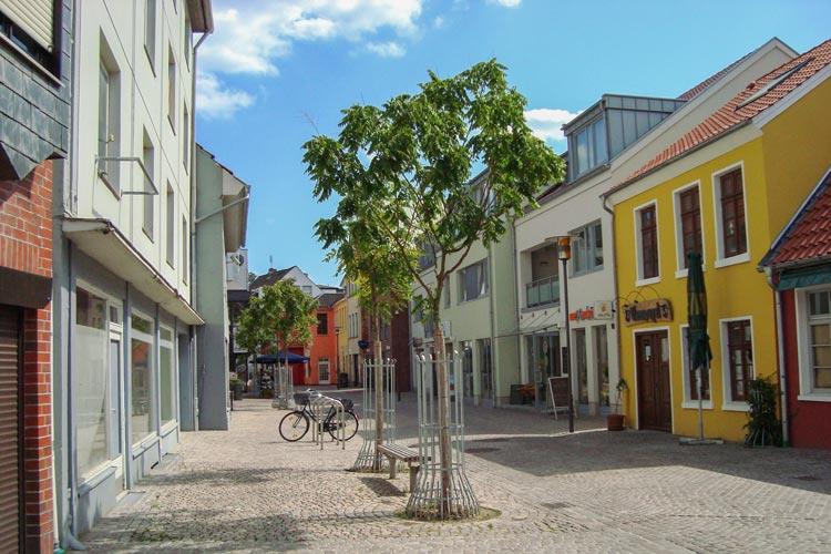 Die Burgstraße in der Oldenburger Innenstadt ist durch die Sanierung ein Hingucker geworden.