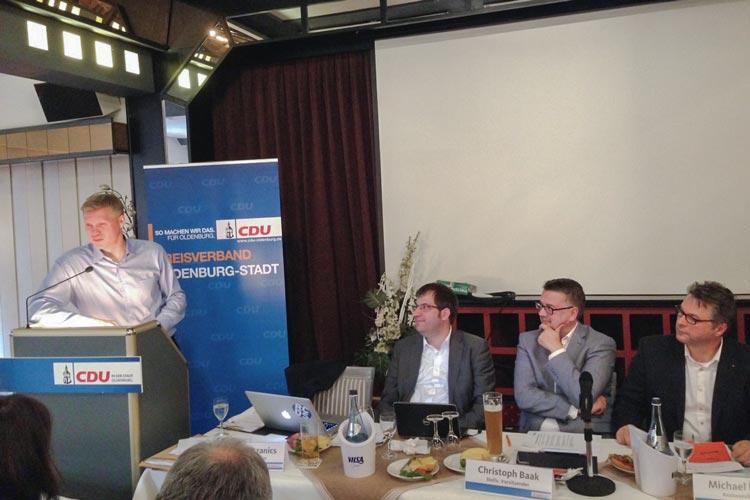 Zur Kommunalwahl am 11. September setzen Oldenburgs Christdemokraten unter dem Slogan Mehr freie Fahrt stark auf das Thema Verkehr.