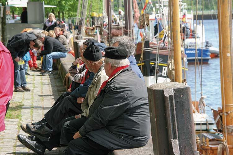 ldenburg gibt sich unter dem Motto Hafenlust am Wochenende maritim.