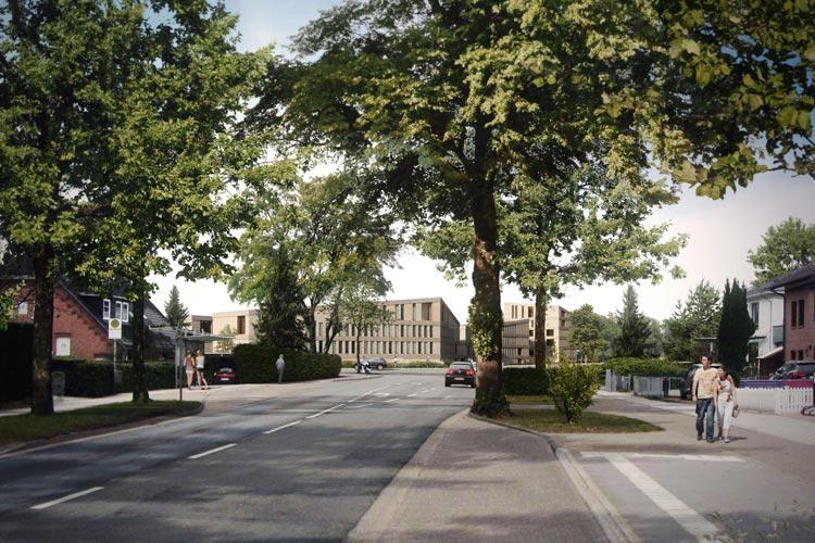 Wer die Hundsmühler Straße stadtauswärts fast bis zur Oldenburger Stadtgrenze fährt, sieht das Areal auf der linken Seite liegen.