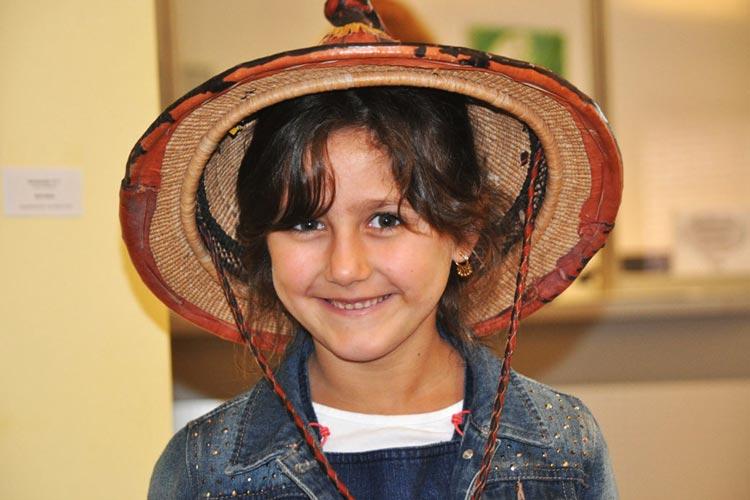 Die Interkulturelle Kinderakademie beschäftigt sich in Rastede mit verschiedenen Wohnformen.