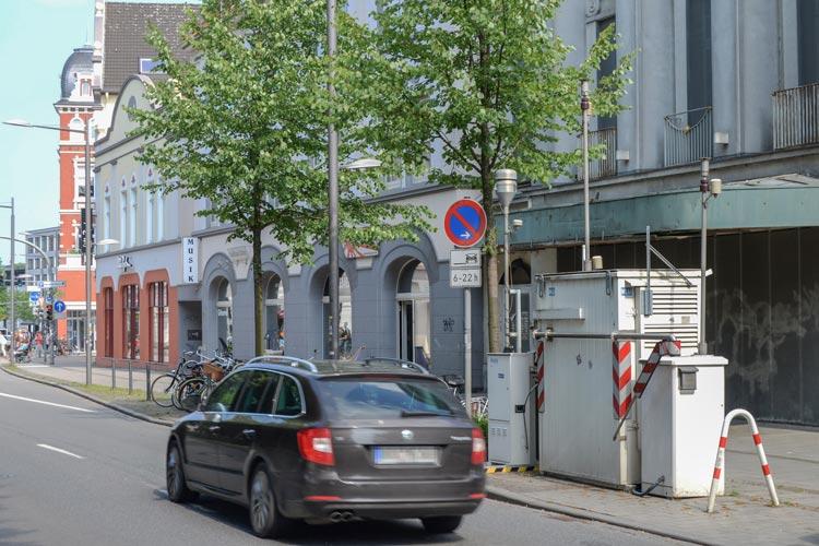 Am Heiligengeistwall in Oldenburg wird der Grenzwert für Stickstoffdioxid überschritten.