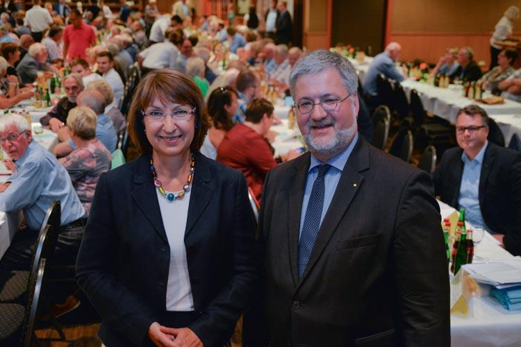 Barbara Woltmann und Stephan Albani haben sich für die CDU um die Spitzenkandidatur zur Bundestagswahl im Wahlkreis Oldenburg / Ammerland beworben.