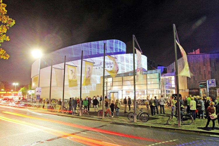 Hochbetrieb herrscht für gewöhnlich anlässlich der Nacht der Museen in Oldenburg wie hier beim Horst-Janssen-Museum.