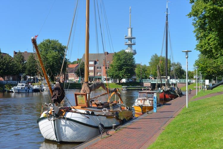 Der Theepot von Toni und Doris von Häfen wird während der Schippertage in Bremerhaven liegen, eines von rund 30 Plattbodenschiffen.